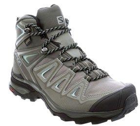 Salomon Women S X Ultra 3 Mid Gtx Hiking Boots Shadow Castor Gray 12 Hiking Boots Women Hiking Boots Best Hiking Shoes