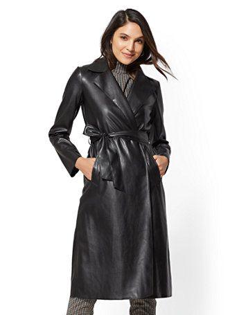 Genuine lambskin leather Coat Ankle length Long sleeve Dress Pointed Cuffs Women