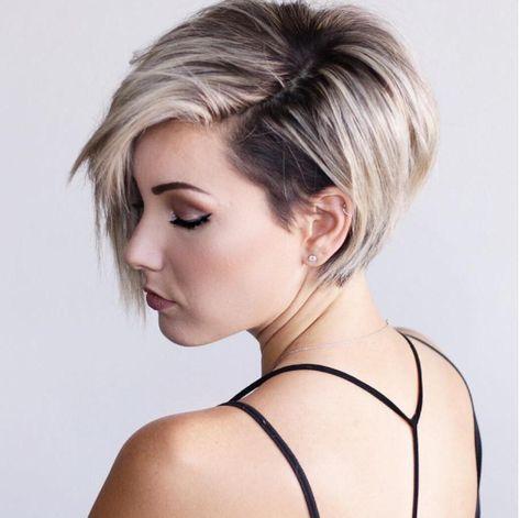 6 Lang Blond Pixie Schnitt 2018 Blonde Pixie Schnitte