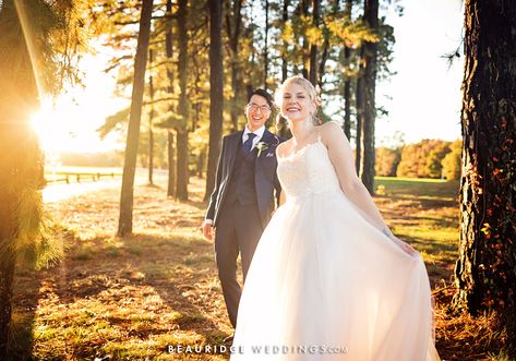 #weddingportrait #sunsetpictures #goldenhour #couplesportrait #bridalgown #groomswear #weddingpictureideas #outdoorpictureideas #golfcoursewedding #njwedding #njcoastalwedding #pine #pinetrees #rusticwedding #bohochicwedding #ronjaworskiweddings #blueheronweddings #fallwedding #summerwedding #njweddingvenue #njreceptionvenue #sunsetpictureideas