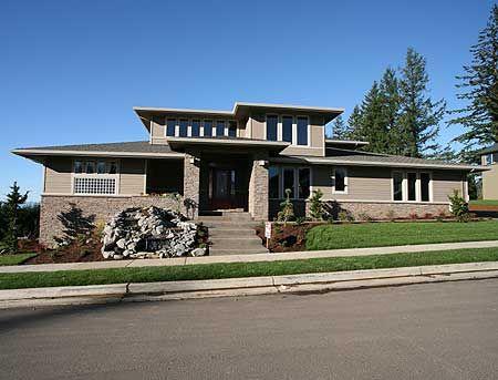 Nice Modern Prairie House Plans Images Gallery >> Modern Prairie ...