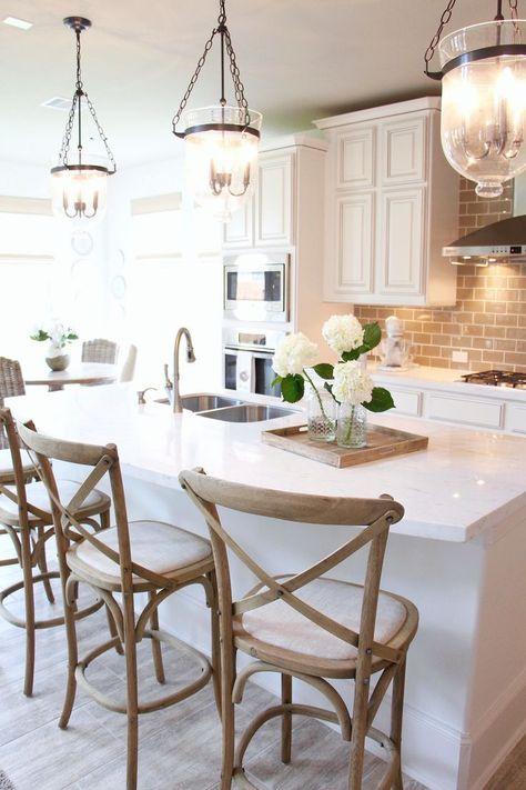 Berühmt Küche Pendelleuchte Nickel Gebürstet Bilder - Küchen Ideen ...
