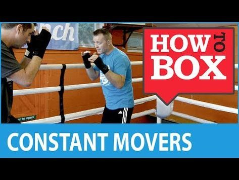 Sparring Dealing With A Constant Mover How To Box Quick Videos Martial Arts Workout Boxing Techniques Self Defense Moves