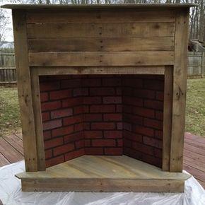 43+ Faux fireplace corner information