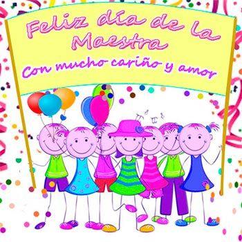 Pancarta Para Felicitar A Nuestras Maestras Tarjeta De Feliz Dia Del Maestro Felicitaciones Para Maestros Dia De Los Maestros
