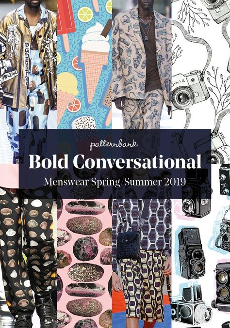 Menswear Spring/Summer 2019 – Print and Pattern Trend Hightlights | Patternbank