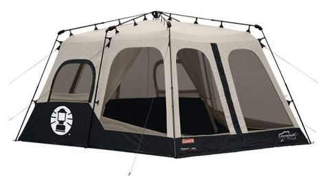coleman instant up 12 person tent