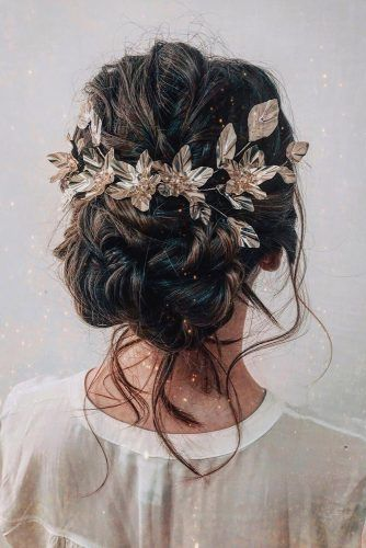 Coiffures de mariage 2019 Idées ★ Voir aussi: www.weddingforwar ... - Bianca Leite ...   - Ha...