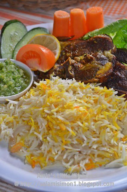 Nasi Kambing Mandhi Food Recipes Cooking Recipes
