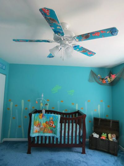Finding Nemo Nursery Baby Bedroom Boy Rooms