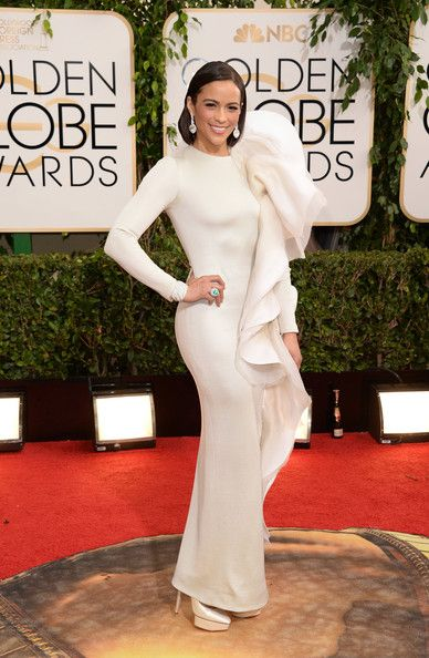 Paula Patton in Stephane Rolland at the 2014 Golden Globe Awards - The Most Daring Red Carpet Dresses of the Decade - Photos