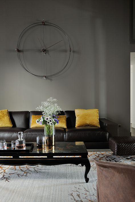 Appartement Lyon Luxe Petit Salon Boudoir Fumoir