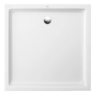 Receveur A Poser Ceramique Blanc Villeroy Boch Collection Design 80 X 80 Cm Ceramiques Blanches Ceramique Et Castorama