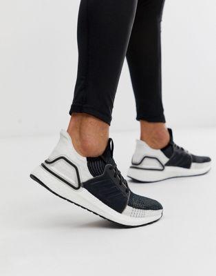 Adidas UltraBOOST 19 Oreo BlancNoir | Homme Running