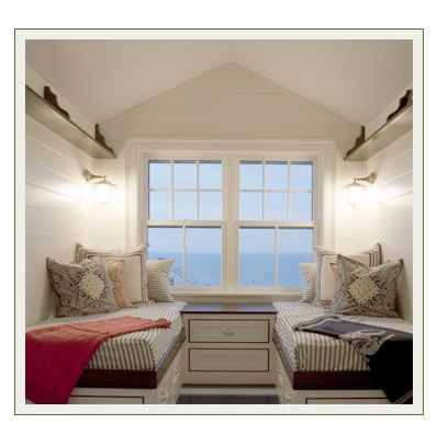 Small Bedroom Remodel the view! wonderful small-space sleeping for two people