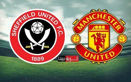 مباراة مانشستر يونايتد وشيفيلد يونايتد فى الدورى الانجليزى اليوم 24 6 2020 بث مباشر يلا شوت يلتقى اليوم الاربعاء Sheffield United Sheffield Manchester United
