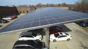 Ge Solar Carport In Spokane Usa
