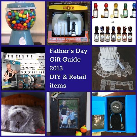 Great Fathers day gift ideas both DIY and to buy
