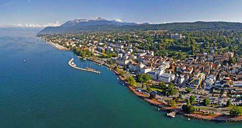 Evian Les Bains France Evian Les Bains Haute Savoie Lac Leman