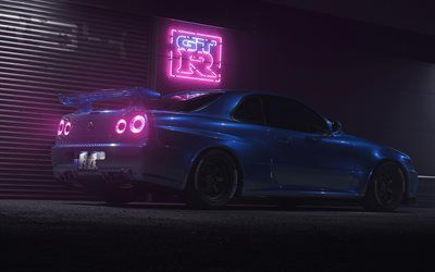 33++ Nissan skyline gtr background best