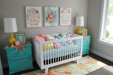 nursery | Four Chairs Furniture + Cadence Homes
