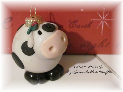 Polymer Clay Christmas Ornament