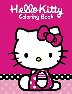 Amazon Com Hello Kitty Coloring Book Coloring Book For Kids And Adults 50 Illustrations Perfect For Ch Kitty Coloring Cat Coloring Book Hello Kitty Coloring