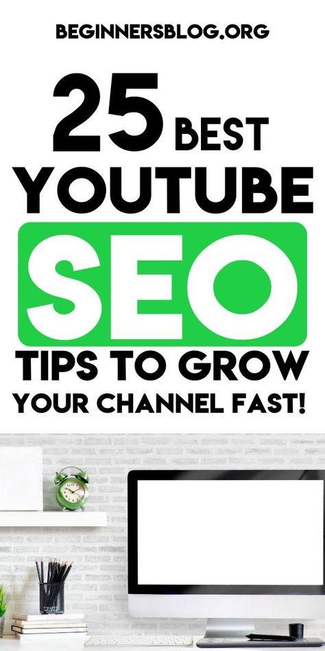 25 Best youtube seo