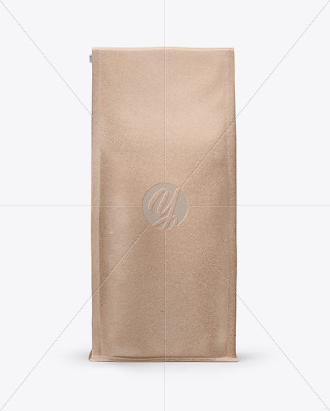 Download Kraft Bag With A Tin Tie Mockup Front View In Bag Sack Mockups On Yellow Images Object Mockups Kraft Bag Mockup Free Psd Psd Template Free