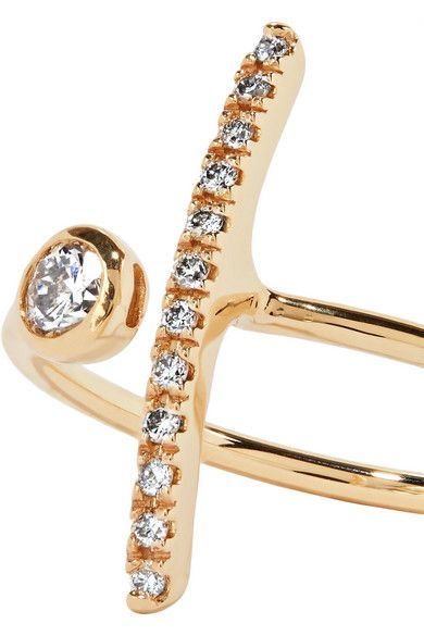 Gold 10 Karat Gold Diamond Ring Hirotaka Gold Diamond Rings Ring Designs Diamond Studs
