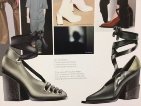 Shoes Trend Book AW 2017/18, Fashion Room The Best of shoes trends in 2017.