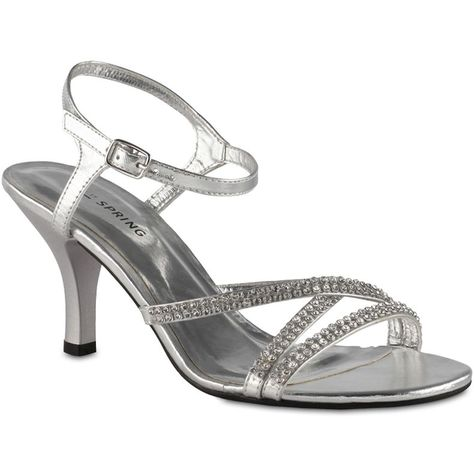 10df27fdaa98 jcpenney - Call It Spring™ Bowgren Rhinestone Strappy Sandals - jcpenney     or do you want us to wear silver shoes