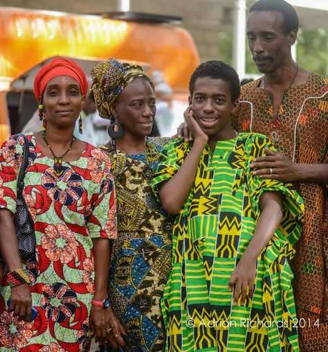 The elegance of this family immaculately dressed in their African garments parading in Queens Park on Christmas morning. Photo by Adrian Richards. If you our culture, beaches, people and our island, then become a fan of Beautiful Barbados