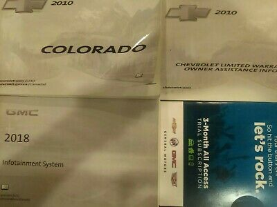 Advertisement Ebay Colorado 2010 Owners Manual Book 10 Owners
