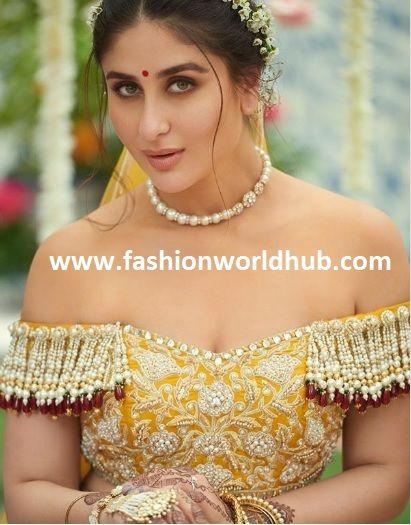 Kareena Kapoor S Bridal Look In Veere Di Wedding Fashionworldhub Most Beautiful Bollywood Actress Beautiful Bollywood Actress Bollywood Fashion