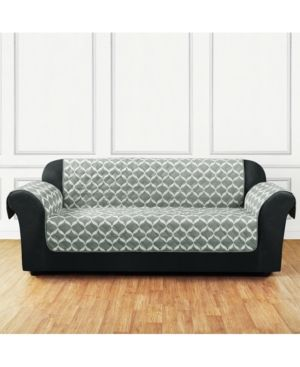 Sure Fit Furniture Flair Quilted Chair Slipcover Reviews Slipcovers Home Decor Macy S Sofa Covers Cushions On Sofa Furniture Slipcovers