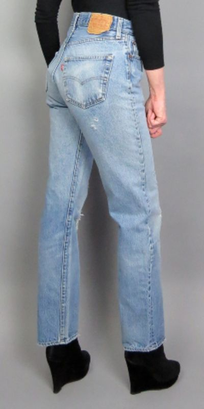 exquisite style price remains stable for whole family Vintage 90s Levi's 501 Button Fly Blue Jeans High Waisted ...