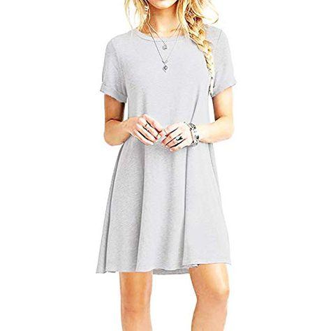 Strickkleid Strickkleid Strick-Kleid Damen  Kleider  Kleider Lässiges Kurzarmkle