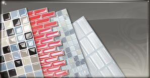 The Smart Tiles - Decorative wall tiles _ LOVE LOVE LOVE these stick on 3D tiles for the splash back of the van.only based in Belguim have emailed about delivery.