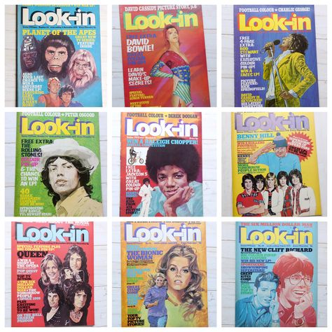 1970s Look In Magazines  #lookin #lookinmagazine #tvtimes #70smusic #tv #comic #comics #magazinecover #ukcomics #uktv #vintagekidstv #popkultuk #lookinmagazine #saturdayskids #70skids #magazinecover #juniortvtimes #childrensmagazine   #1970s #ebayshop #ebay #sellingvintage #etsyshop #70s #childhood #childhoodmemories #memories #nostalgic #tripdownmemorylane