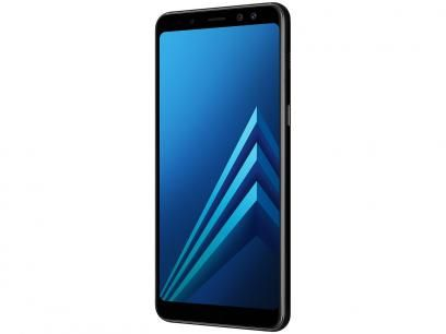 Smartphone Samsung Galaxy A8 64gb Preto Dual Chip 4g Cam 16mp