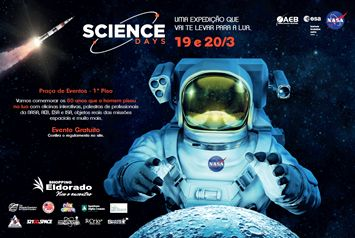 e3a784838 Shopping Eldorado realiza evento inédito em comemoração aos 50 anos da  chegada do homem à Lua