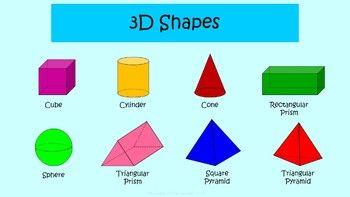 3d Shapes Poster 3d Shape Posters Shape Posters 3d Shapes
