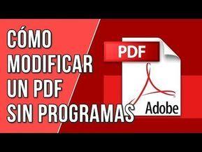 Escribir En Un Archivo Pdf Sin Cambiar El Formato Editar Pdf Youtube Aprender Informatica Aplicaciones Para Educación Alfabetizacion Informacional