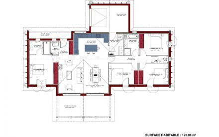 Plan de maison régionale Maison Basque | Maisons | Pinterest | House ...