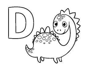 40 Desenhos De Dinossauros Para Colorir Pintar Imprimir