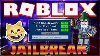 NEW] ROBLOX HACK/SCRIPT! | JAILBREAK | AFK AUTOROB SCRIPT
