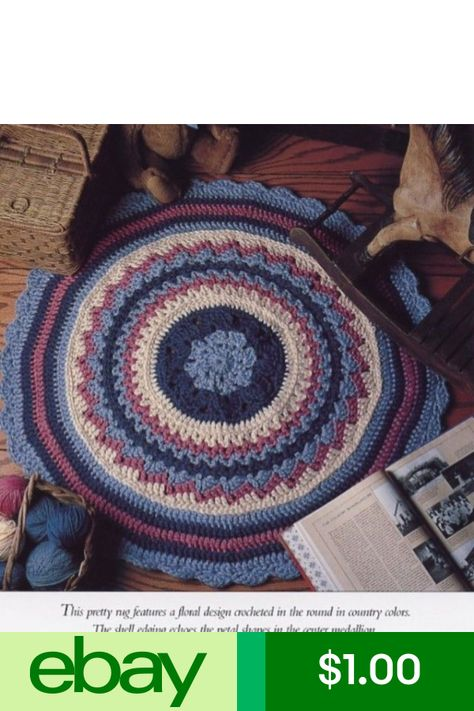 Floor Fashion 36 Round Rug Vanna Crochet Patterninstructions