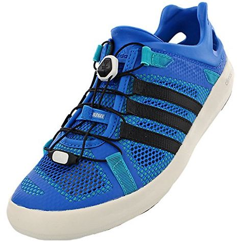 5d4be1225fe4 Boating-Adidas Climacool Boat Breeze Shoe - Men s Shock Blue Core Black  Shock Green 9.5     Check this awesome product by going to the link at the  image.