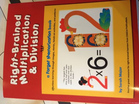 """From another pinner: """"Dyscalculia If you or your child can't do multiplication or division this book is AMAZING!!! Wow I had no idea this stuff could be so easy!  My daughter and I have Dyscalculia and this is a miracle math book :-)"""""""